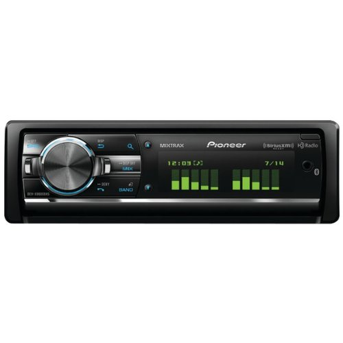 Pioneer Deh-X9600Bhs Single-Din Cd Receiver With Usb Ipod(R), Rgb, Bluetooth(R), Hd Radio(R), Siriusxm(Tm) Ready & Mixtrax(Tm)