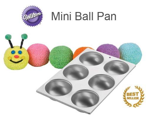 Wilton Sports Ball Pan Set (Mini Sports Ball) (Mini Ball Cake Pan compare prices)