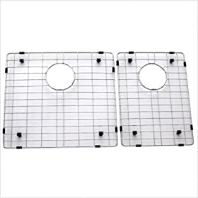 "Stainless Steel 18.65"" Bottom Grid for Kitchen Sink"