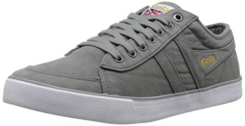 Gola Men's Comet Canvas Fashion Sneaker, Grey, 10 UK/10 M US
