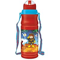 Milton Kool Floric 500ml Insulated Plastic Bottles - Red