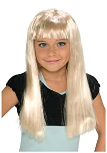 Child Alice Blonde Wig by Rubies Costume Co. Inc