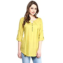 TAURUS WOMEN'S LAYERED PLEAT TOP (CTP-1512-AGRN-LARGE)