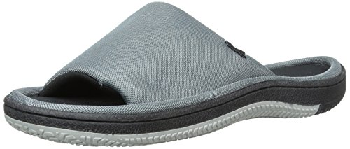 isotoner-a91249-herren-us-11-grau-slipper