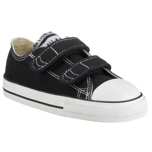 Converse All Star Infant V3 Lo Top (6, Black)