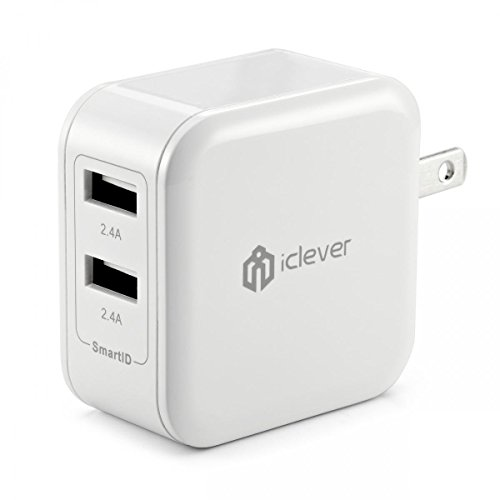 [Most Powerful] iClever® 4.8A 24W Dual Port