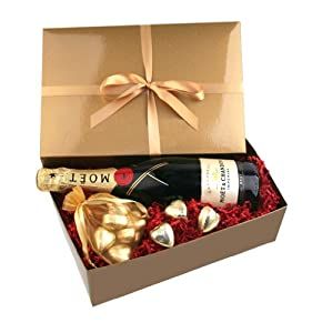 Moet Chandon Champagne and Chocolates Gift
