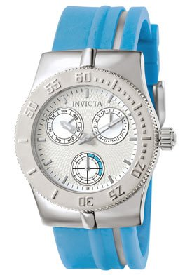 Invicta Women's 5916 Lady Wildflower Collection Stainless Steel Light Blue Watch