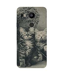 Cute Kittens Vintage Nexus 5X Case