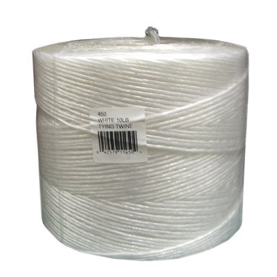Dewitt 450 Tying Twine, White, 4,500-Feet Length