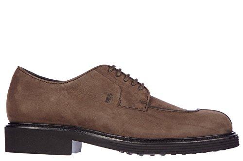Tod's scarpe stringate classiche uomo in pelle nuove derby norvegese marrone EU 41.5 XXM0UE0K180VEKS808