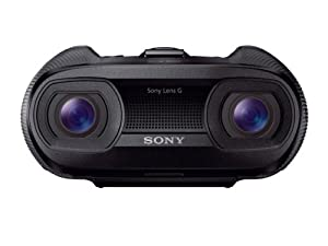 Sony DEV-50V B Digital recording Binoculars (Black) by Sony