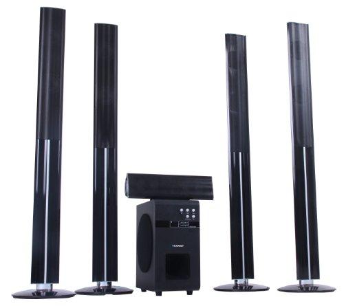 Blaupunkt LS 251 Aktives 5.1 Lautsprechersystem mit kabellosem Rücklautsprecher inkl. Subwoofer (HDMI, DVD/CD/MP3, 100 Watt RMS)