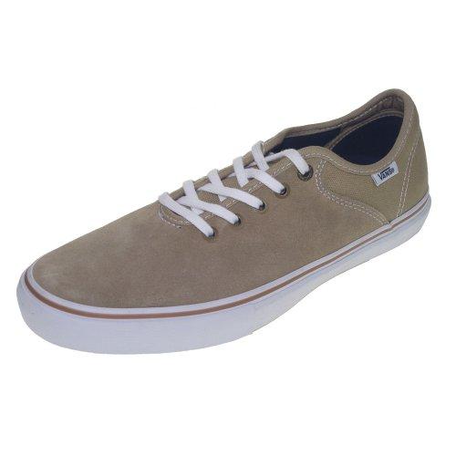 Vans Stage 4 Low, Scarpe da Skateboard uomo Marrone Andrew Allen/Khaki UK, grigio (grigio), 11 UK