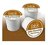 Café Escapes Milk Chocolate Hot Cocoa  K-Cup Portion Pack for Keurig K-Cup Brewers, 24-Count
