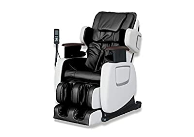 ExacMe Electric Full Body Shiatsu Massage Chair Recliner w/Heat Stretched Foot Rest 7201BW