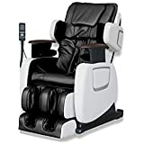 ExacMe Electric Full Body Shiatsu Massage Chair Recliner Stretched Foot Rest 7201BW