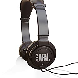 JBL C300SI Dynamic Wired Headphones (Black Color)