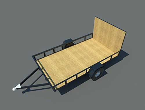 Build your own 6' X 10' Utility Trailer (DIY Plans) Fun to build! Save money! (10 Ft Utility Trailer compare prices)