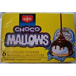Fibisco Choco Mallows 100g Pack of 10