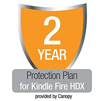 """2-Year Protection Plan with Accident & Theft Cover for All-New Kindle Fire HDX 7"""", UK customers only"""
