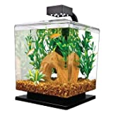 Tetra 29137 WaterWonders Aquarium Cube, 1.5 Gallons, Black