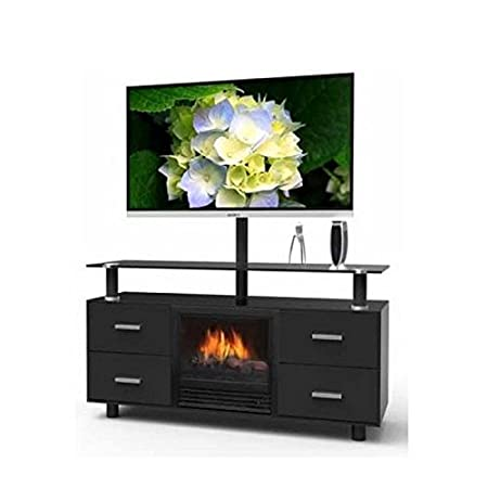 Galaxy Electric Fireplace TV Entertainment Center