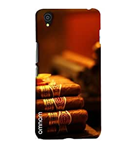 Omnam Bunch Of Cigar Printed Designer Back Cover Case For One Plus X