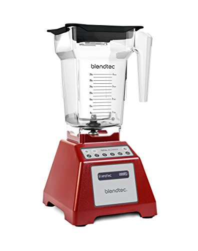 Blendtec Total Blender, FourSide Jar, Red