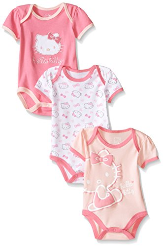 Hello-Kitty-Baby-Girls-Multi-Pack-Bodysuits