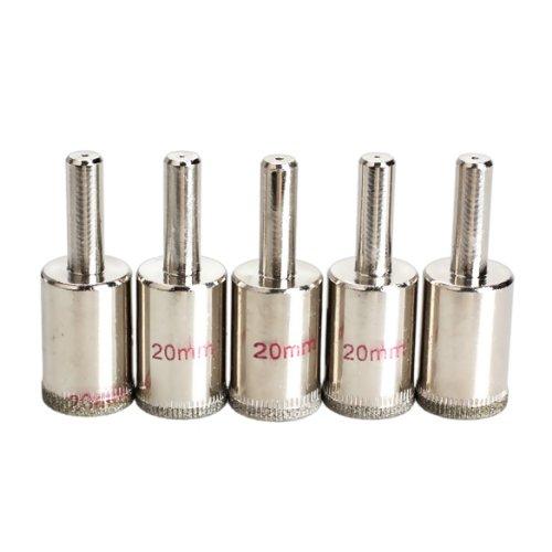 Vktech Diamond Hole Saw Core Drill,5Pcs,20Mm