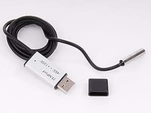 Tinxi USB Sensor Temperatur Thermometer Thermograph Tester Recorder für PC Laptop