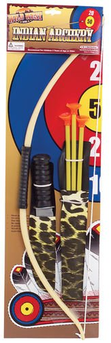 Wild West Bow and Arrow Indian Archery Set