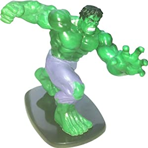 "Marvel Monogram Incredible Hulk Green 4"" Figure Figurine"