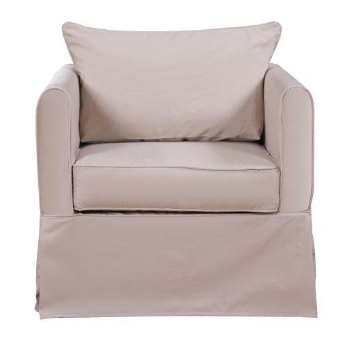 Howard Elliott Q138-897 Starboard Alexandria Chair, Stone front-945092