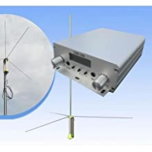 CZH 15A 15W FM Stereo PLL Broadcast Transmitter 1/2 Wave Antenna Kit