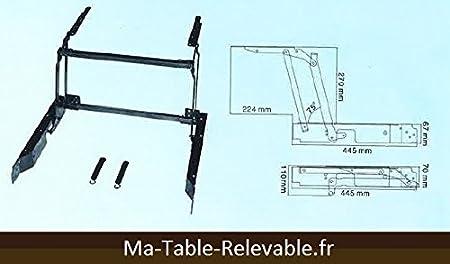 Table relevable mecanisme - Mecanisme table basse relevable ...