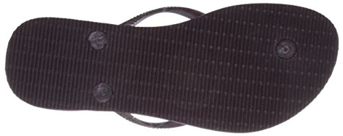 Havaianas Women's Slim Royal Flip Flop, Aubergine/Aubergine, 37 BR/7/8 M US