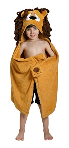 ZOOCCHINI Leo the Lion Hooded Towel