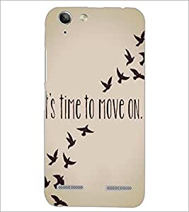 PrintDhaba Quote D-4197 Back Case Cover for LENOVO A6020a46 (Multi-Coloured)