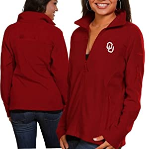 NCAA Oklahoma Sooners Ladies Give and Go FZ T-Shirt by Columbia