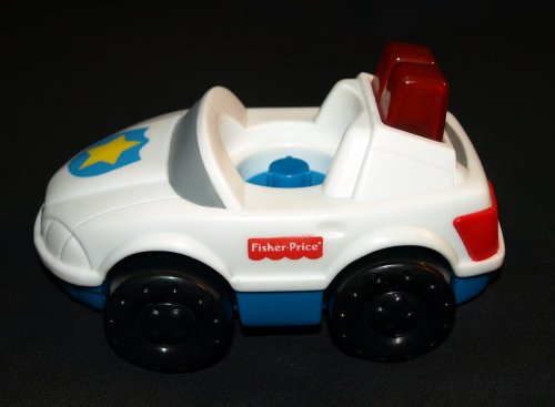 Fisher Price Little People Police Car - 1