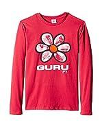 Guru Gang Camiseta Manga Larga (Rojo)