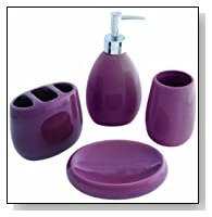 Waverly 4-Piece Bath Gift Set