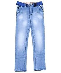DUC Boy's Denim Light Blue Jeans (kd08-lb-38)