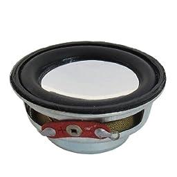 3W 3 Watt 8 Ohm 40mm Dia Magnetic Type Aluminum Shell Round Speaker