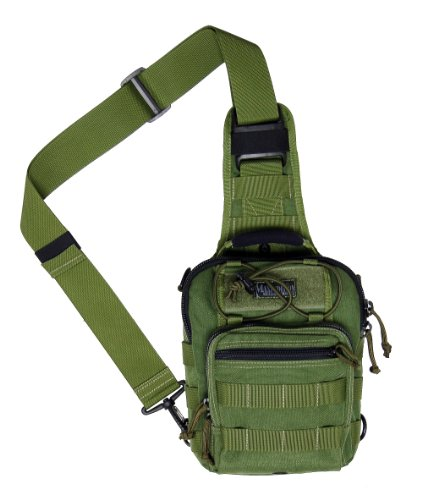 Maxpedition Remora Gearslinger Shoulder Bag - Olive Drab Green, 3lt