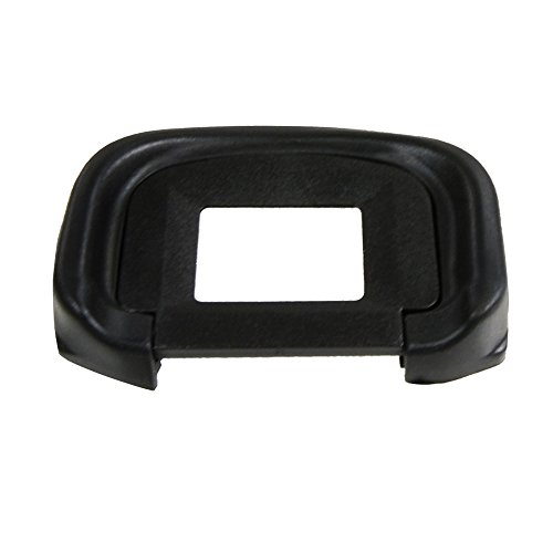 FotoTech 2 Pieces Replacement Rubber Eyecup Eye Cup replaces Canon Eyecup EG For CANON EOS 5DS, 5DSr, 7D 1D-C, 1D-X, EOS Mark 1D Mk IV, 1Ds, 5D Mk III DSLR Cameras with FotoTech Velvet Bag