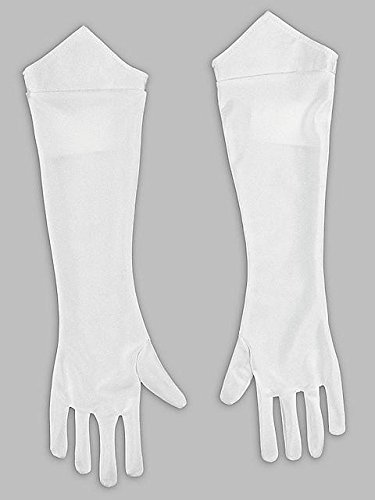 Disguise Women's Nintendo Super Mario Bros. Princess Peach Gloves, One Size