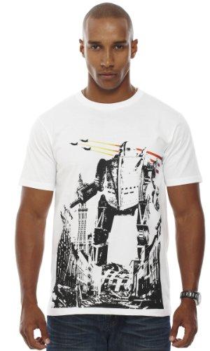 Retreez Robot Demolition Printed Men's T-shirt